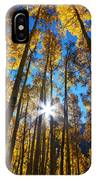Autumn Aspens IPhone Case by Kate Avery