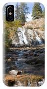 Autumn At Helen Hunt Falls Colorado IPhone Case