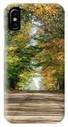 Autumn Backroad  IPhone Case