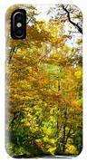 Autumn Drive No.2 IPhone Case