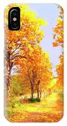 Autumn In Tuscany IPhone Case