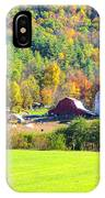 Autumn On The Farm IPhone Case