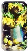 Autumn Sunflowers IPhone Case