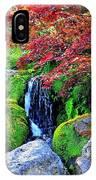 Autumn Waterfall - Digital Art 5x3 IPhone Case