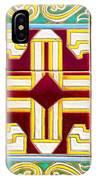 Azulejo - Geometrical Decoration  3 IPhone Case