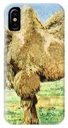 Bactrian Camel, Endangered Species IPhone Case