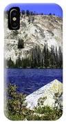 Baker Lake, Idaho IPhone Case