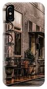 Bank Street Downtown Bristol IPhone Case