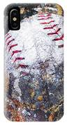 Baseball Art Version 6 IPhone Case