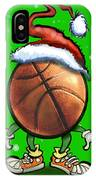 Basketball Christmas IPhone Case