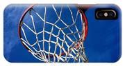 Basketball Hoop #juansilvaphotos IPhone Case