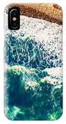 Beach Background IPhone Case