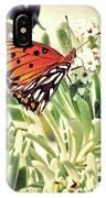 Beach Butterfly IPhone Case