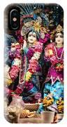 Beautiful Image Of Krishna And Radhe From Boise Hare Krishna Temple IPhone Case