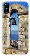 Belfry On Palamidi Castle IPhone Case