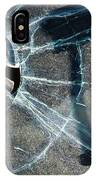 Belmont Cracked Window And Shadow 1599 IPhone Case