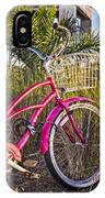 Bicycle At The Beach II IPhone Case
