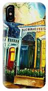 Big Easy Neighborhood IPhone Case