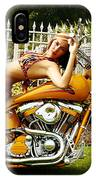 Bikes And Babes IPhone Case
