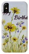 Birthday Card IPhone Case