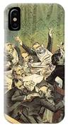 Blaine Cartoon, 1884 IPhone Case