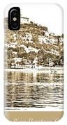 Blankenese, Hamburg, Germany Suburb, Elbe River, 1903 IPhone Case