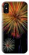 Blooming Fireworks IPhone Case