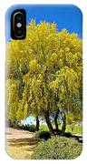 Blooming Palo Verde IPhone Case