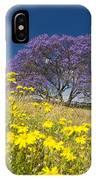 Blossoming Jacaranda IPhone Case
