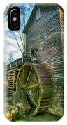 Blowing Cave Mill Near Smoky Mountains Of East Tennessee IPhone Case