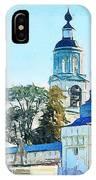 Blue Church IPhone Case