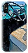 Blue Ford Pickup Truck IPhone Case