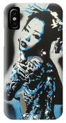 Blue Geisha IPhone Case