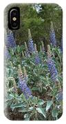Blue Lupine IPhone Case