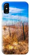 Blue Sky Over The Dunes IPhone Case