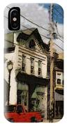 Brady Street Scene IPhone Case