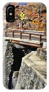 Bridge By Kaaterskill Falls 1 IPhone Case