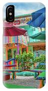 Bubble Room Restaurant - Captiva Island, Florida IPhone Case