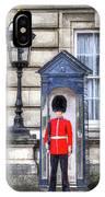 Buckingham Palace Queens Guard Art IPhone Case