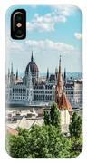 Budapest Skyline IPhone Case