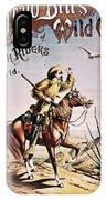 Buffalo Bill: Poster, 1893 IPhone Case