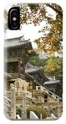 Bulguksa Buddhist Temple IPhone Case