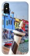 Burano Venice Italy IPhone Case