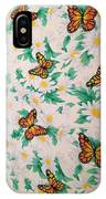 Butterflies And Daisies - 1 IPhone Case