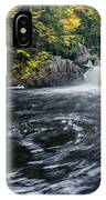 Buttermilk Falls Gulf Hagas Me. IPhone Case