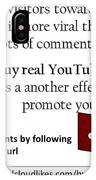 Buy Youtube Comments IPhone Case