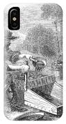 California Gold Rush, 1860 IPhone Case