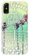 California Palms IIi IPhone Case