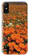 California Poppies Desert Dandelions California IPhone Case