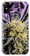 Cannabis Macro IPhone Case